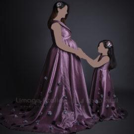 آتلیه بارداری به همراه لباس بارداری