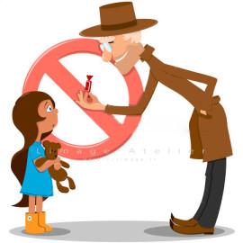 چگونگی برخورد کودکان با افراد غریبه