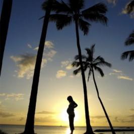 هفت ایده عالی برای عکس بارداری